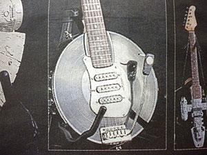 レコードギター