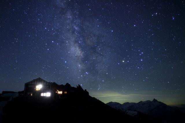山小屋銀河