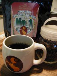 アロハ~♪なカップとコナコーヒー