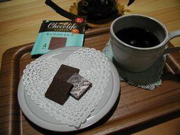 チョコと珈琲