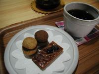 il barの焼き菓子と珈琲