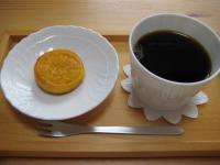 ロンド(オレンジ)とコーヒー