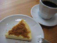 NYチーズケーキとコーヒー
