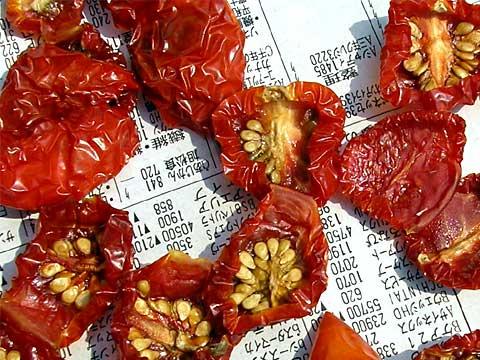 fc2_8_20(ミニトマトのドライトマト作り)