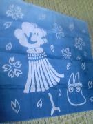 藍染め子供会2