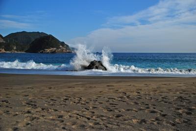 波しぶき1