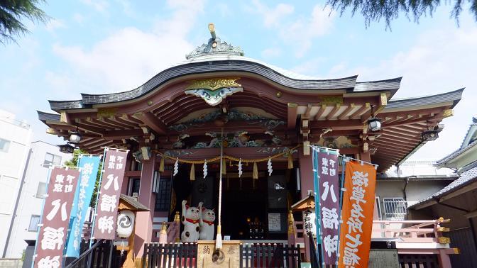 今戸神社拝殿1