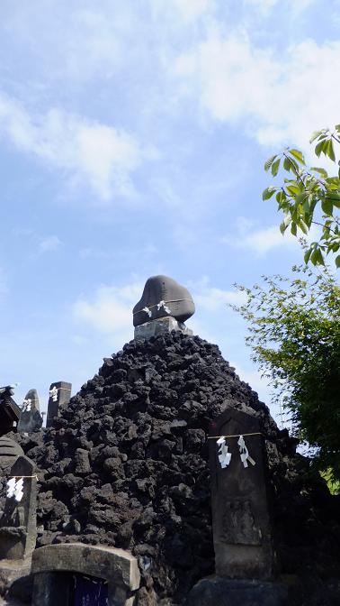 石浜の富士塚