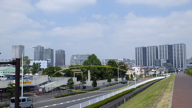 石浜神社全景