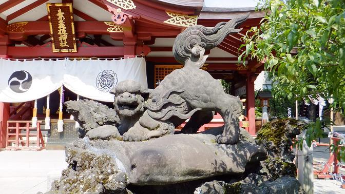 スサノオ狛犬1