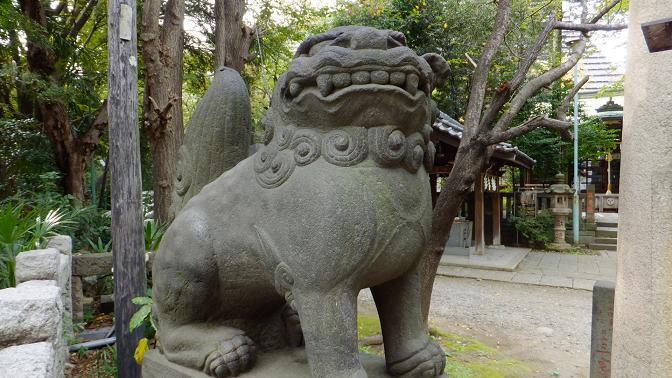飯倉狛犬1