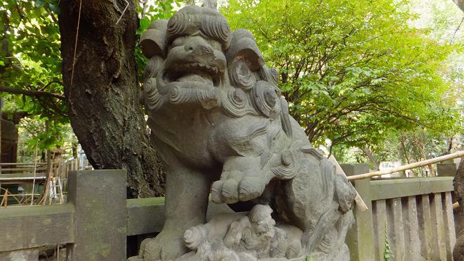 飯倉狛犬3