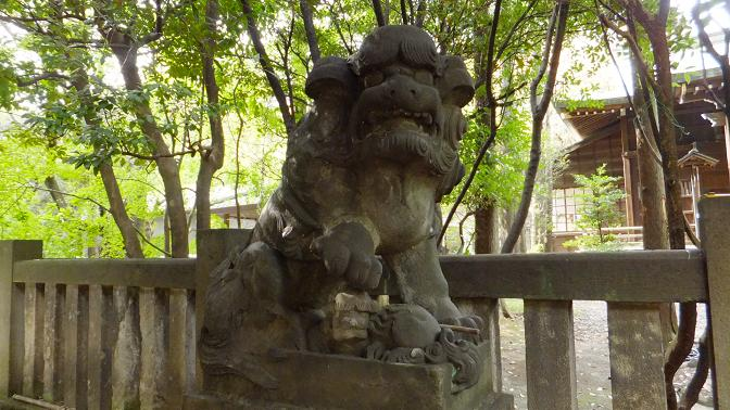 飯倉狛犬4