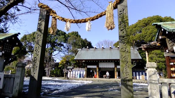 皇大神宮の拝殿