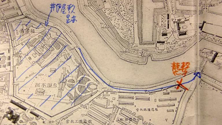 明治17年の地図