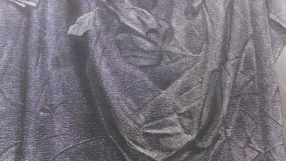 吊るした布と花梨など2