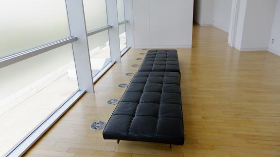 休憩コーナーの椅子