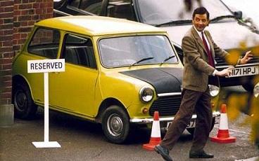 Mr.Beanの愛車といえば…