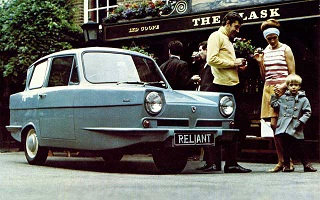 1972 Reliant Regal Supervan III