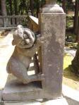 岩木山神社狛犬1