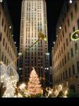 Rockfeller Centerのクリスマスツリー