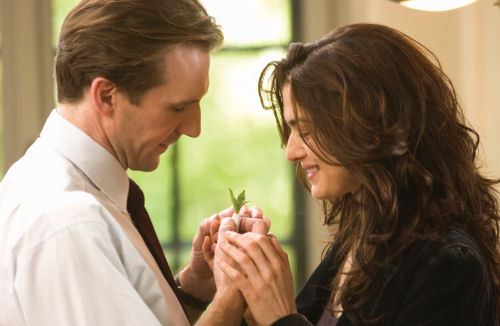 Ralph Fiennes and Rachel Weisz
