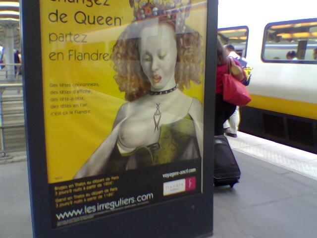 Advert in Paris - Flandre
