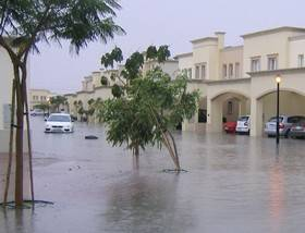 Flooding Dubai