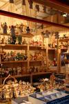 ドイツらしい木工細工を売るお店