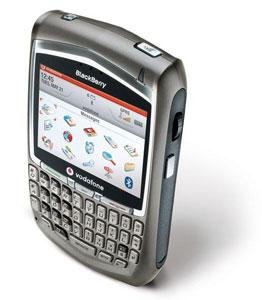 無骨なBlackberryはアメ車のよう