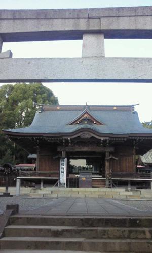 吉方位開運ツアー開催  出雲伊波比神社1