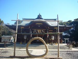 姉崎神社(2011年1月25日)1