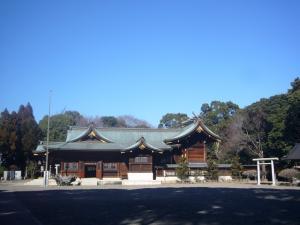 姉崎神社(2011年1月25日)5