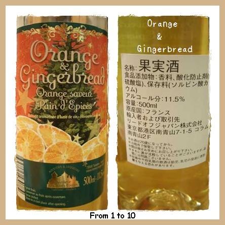 オレンジ&ジンジャーブレッド