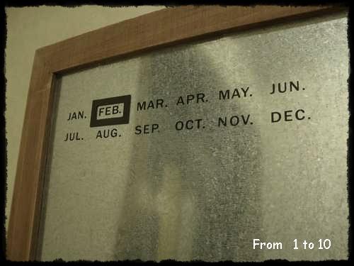 カレンダーボード