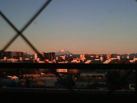 東大和病院からの富士2