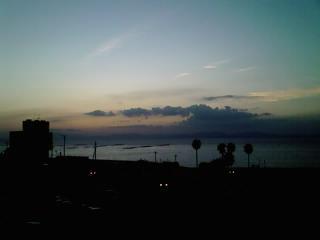 小浜の夕暮れ