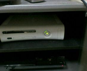 正常に動作している自宅のXBOX360