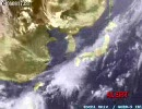 2004年の気象衛星画像を全部つなげてみた。