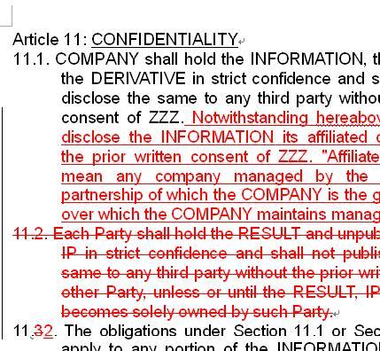 2003文書Aと文書A´の差異が表示されます