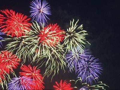 昭和記念公園の花火大会