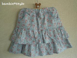 パンツ付きスカート(110)