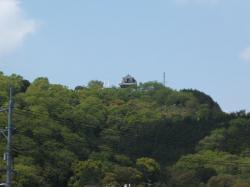 茶臼山城遠景