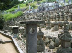 因島水軍墓地