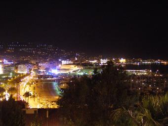 cannes 夜景