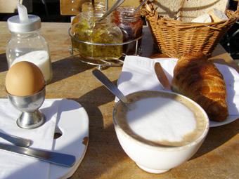Nice Cafe au lait