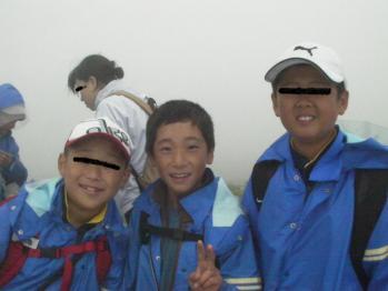 月山登山7.14
