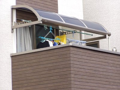 ベランダR屋根完成