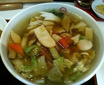 551蓬莱の日替わり定食