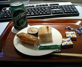 成田空港ANAラウンジの軽食